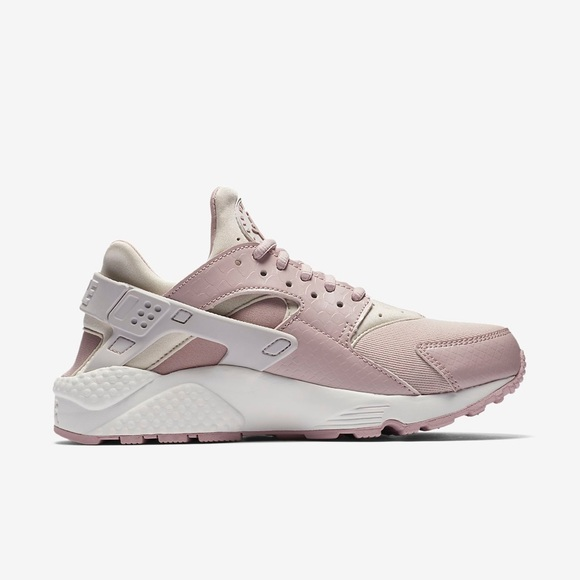 Nike Air Huaraches City Low - Color is Rose/White